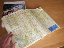 annuaire téléphonique des pages jaunes