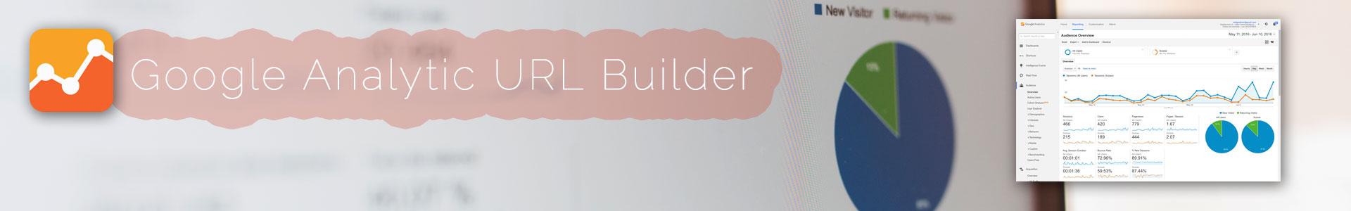 google analytics url builder, outil de création d'url