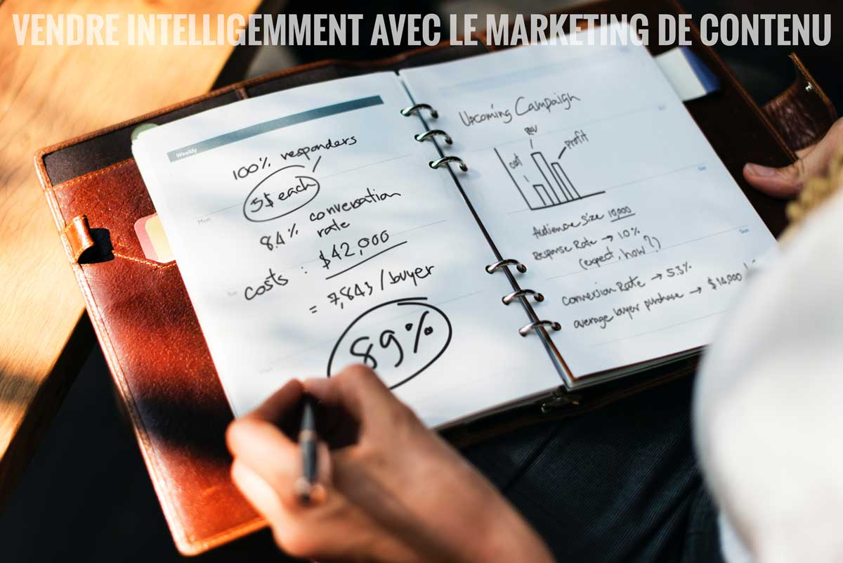 vendre intelligemment avec le marketing de contenu