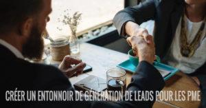 entonnoir de génération de leads pour PME suisse romande