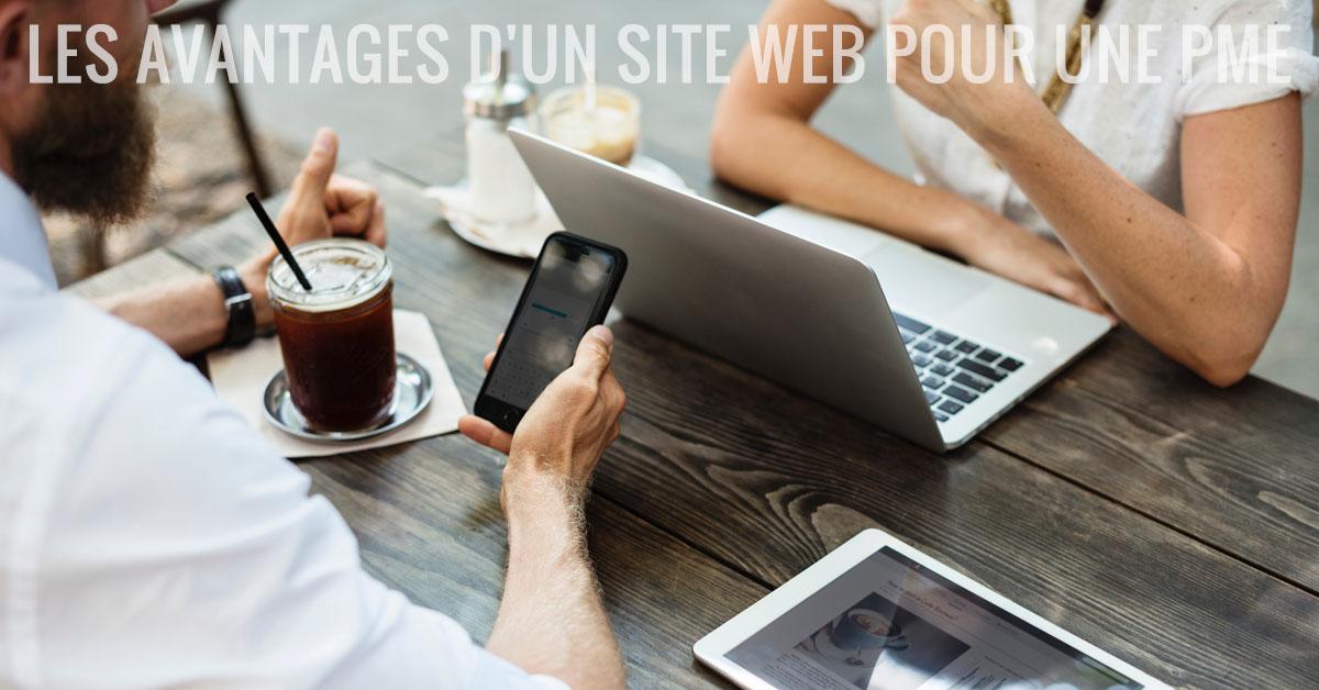 Les avantages d'un site web pour une PME