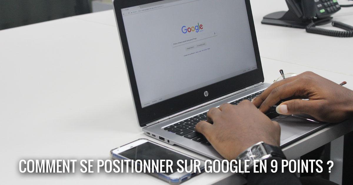 Comment se positionner sur Google ?