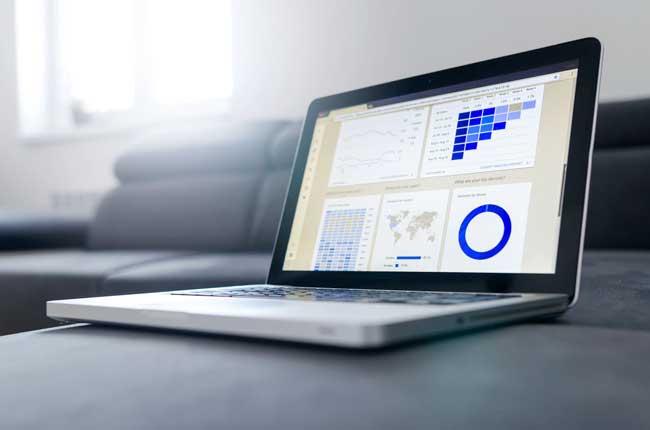 KPI marketing digital on google data studio